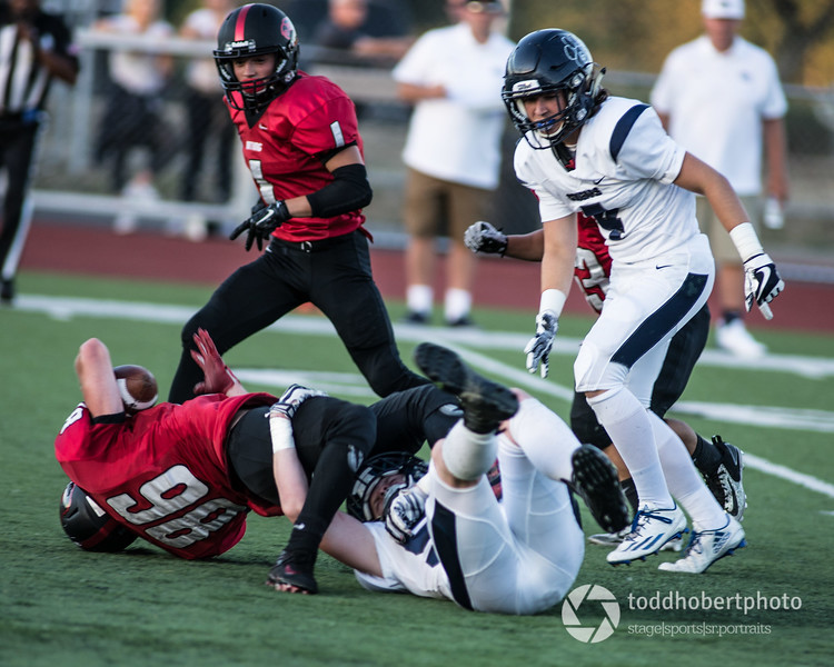 Orting Football Vs Cascade Christian 2017_21