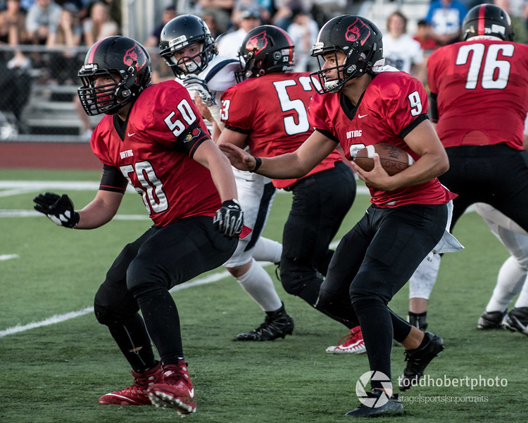 Orting Football Vs Cascade Christian 2017_22