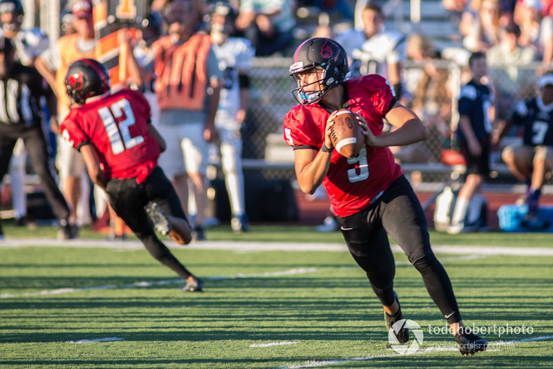 Orting Football Vs Cascade Christian 2017_3