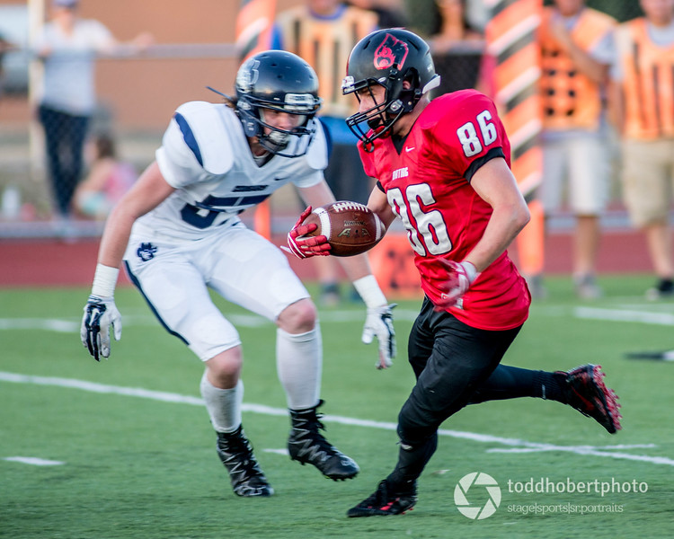 Orting Football Vs Cascade Christian 2017_18