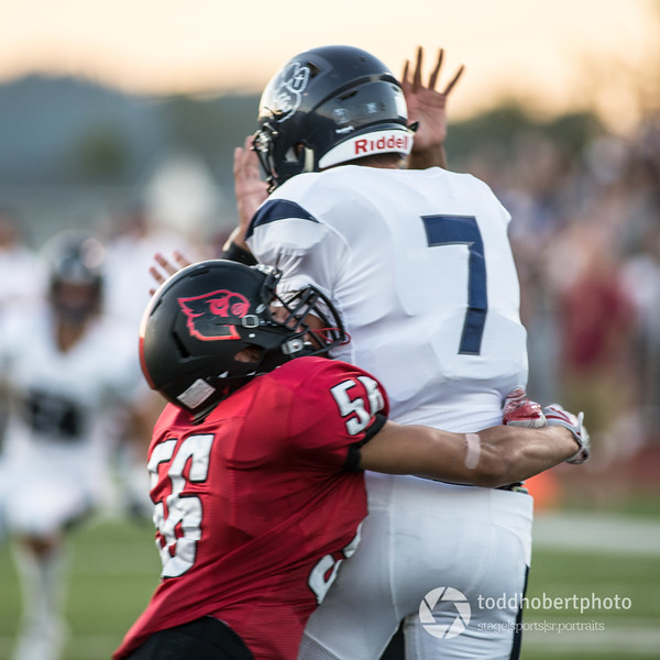 Orting Football Vs Cascade Christian 2017_44