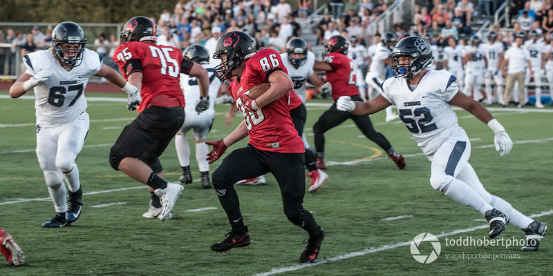 Orting Football Vs Cascade Christian 2017_24