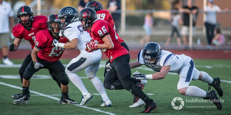 Orting Football Vs Cascade Christian 2017_19
