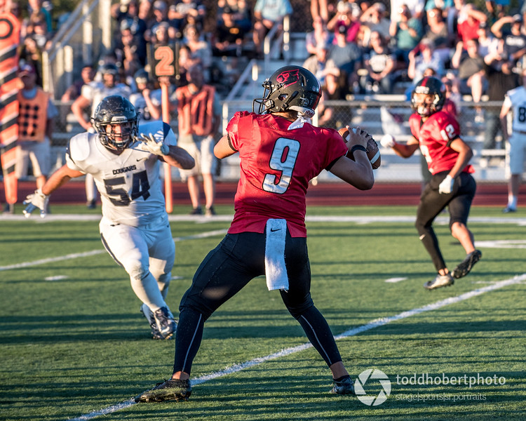 Orting Football Vs Cascade Christian 2017_12