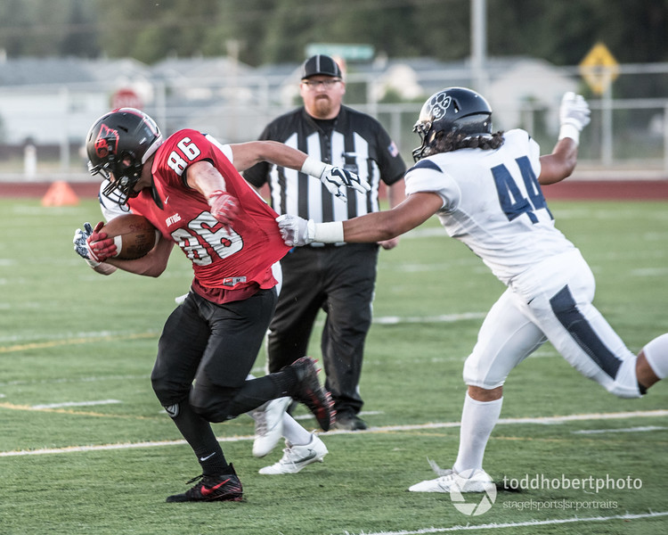 Orting Football Vs Cascade Christian 2017_27