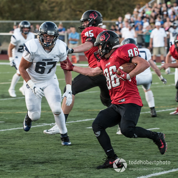 Orting Football Vs Cascade Christian 2017_25