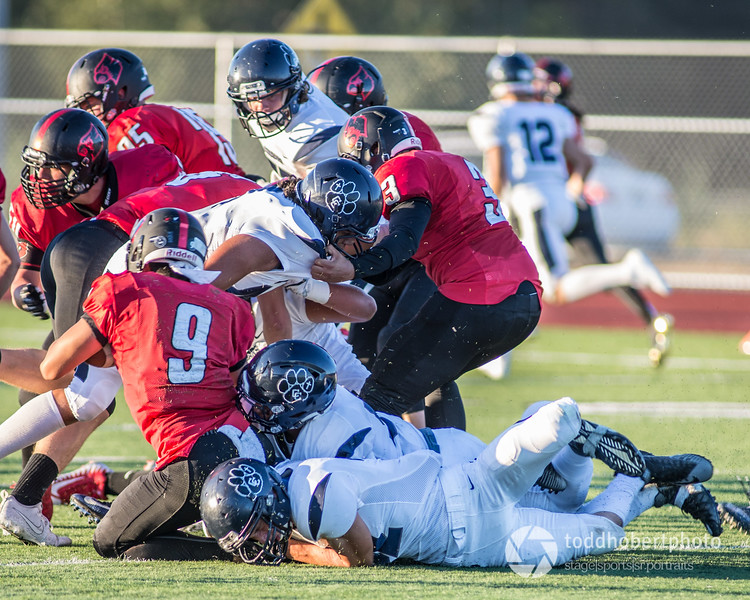 Orting Football Vs Cascade Christian 2017_4