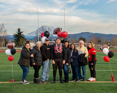 Orting Football Sr Night Group Pics