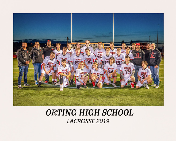 OHS Lacrosse 2019 Team