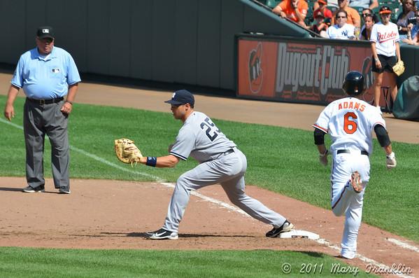 O's vs Yankees 8/28/2011