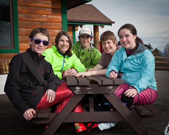 2013 Lake Placid Alpine Ski Team