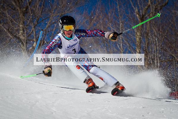 2016 NYSPHSAA Boys Slalom Championships 2/22/16 Whiteface Mt.