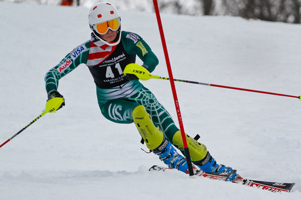 2013 Old Forge Ski Team LPWC Slalom
