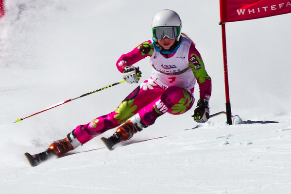 2014 U16 Eastern Championships Whiteface Mt. Ladies GS
