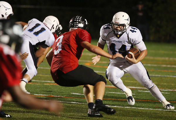 Peabody at Marblehead football game