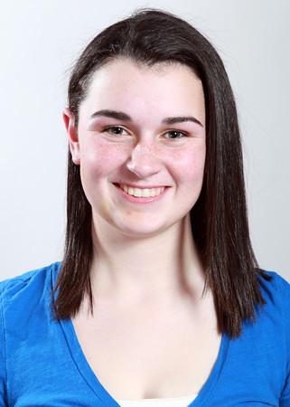 Salem News All-Star Caitlin McBride Beverly Girl's Hockey