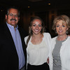 Danvers:<br /> From left, Garth Brown, Samantha Brown, of Ipswich High, and Mary Beth Brown at the Salem News Student-Athlete banquet.<br /> Photo by Ken Yuszkus/Salem News, Thursday, April 5, 2012.