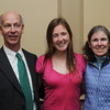 Danvers:<br /> From left, Tom Moore, Melissa Moore, of Manchester Essex Regional High School, and Linda Moore at the Salem News Student-Athlete banquet.<br /> Photo by Ken Yuszkus/Salem News, Thursday, April 5, 2012.