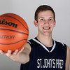 Salem News Student Athlete Nominee Andrew Hall St. John's Preparatory High School. DAVID LE/Staff photo 3/14/14