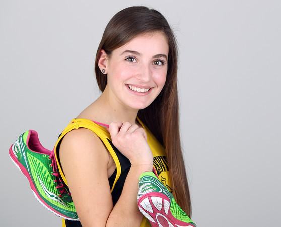 Salem News Student Athlete Nominee Arianna Maida Bishop Fenwick High School. DAVID LE/Staff photo 3/14/14