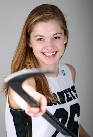 Salem News Student Athlete Nominee Brittany Smith Manchester-Essex Regional High School. DAVID LE/Staff photo 3/14/14