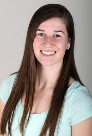 Salem News Student Athlete Nominee Caitlin Harty Beverly High School. DAVID LE/Staff photo 3/14/14