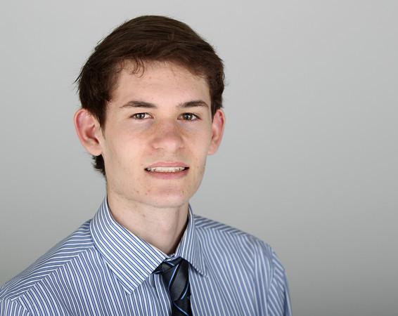 Salem News Student Athlete Nominee Matthew Mahoney Swampscott High School. DAVID LE/Staff photo 3/14/14