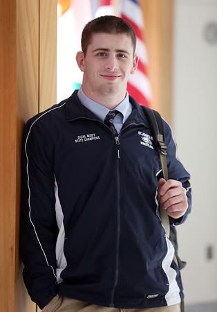 DAVID LE/Staff photo. Ian Butterbrodt St. John's Preparatory School Student Athlete Nominee