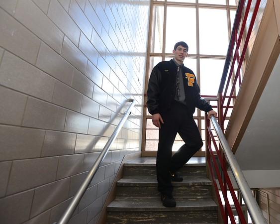 RYAN HUTTON/Staff photo<br /> Bishop Fenwick's Miles Connor