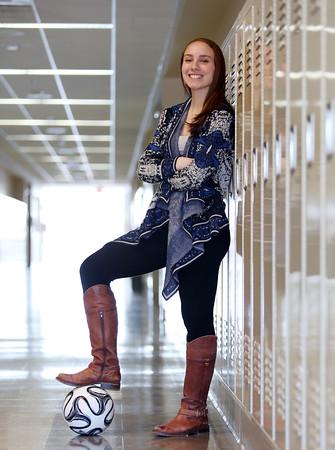 DAVID LE/Staff photo. Samantha Rizzo Swampscott High School Student Athlete Nominee