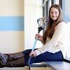 DAVID LE/Staff photo. Sarah Godschall Peabody Veterans Memorial High School Student Athlete Nominee