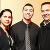 Salem: Salem News Student-Athlete nominee Emilio Beato and his parents Pedro and Nelsi, at the 51st Annual Salem News Student-Athlete Banquet. David Le/Salem News