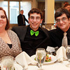 Salem: Salem News Student-Athlete nominee Bryan Mendes with his parents Joanne and Charlie, at the 51st Annual Salem News Student-Athlete Banquet. David Le/Salem News