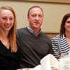 Salem: Salem News Student-Athlete nominee Julianne DeGenova with her parents Liz and John, at the 51st Annual Salem News Student-Athlete Banquet. David Le/Salem News