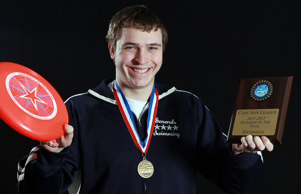 Salem News Student-Athlete Nominee Andrew Klobucher, Hamilton-Wenham High School. In addition to swimming, Andrew enjoys Physics, Ultimate Frisbee, and has been named CAL Swimmer of the Year in 2012, and Hamilton-Wenham Most Valuable Swimmer. David Le/Salem News