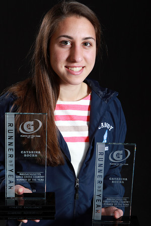 Salem News Student-Athlete Nominee Catarina Rocha, Peabody High School. Rocha runs three-seasons for the Tanners, placing second in at the Cross Country Nationals  meet in the fall, and running in State and New England meets in the winter and spring seasons. Rocha is also involved in TV and Studio Production classes at Peabody High School. David Le/Salem News