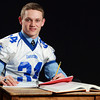 Salem News Student-Athlete Nominee Duncan d'Hemecourt, Danvers High School. d'Hemecourt is a linebacker for the Falcons in the fall and plays a key role coming off the bench for Danvers during Basketball season as well. d'Hemecourt has won back-to-back D3 State Championships with the Falcons in 2011-2012 and 2012-2013 seasons. d'Hemecourt enjoys Calculus in school and also participates in DECA, an annual business competition. David Le/Salem News