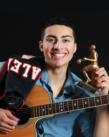 Salem News Student-Athlete Nominee Emilio Beato, Salem High School. Emilio is a three-sport varsity athlete for the Witches, participating in Soccer (Fall), Basketball (Winter), and Baseball (Spring). Beato won his team's Unsung Hero Award for basketball for 2012, and plays shortstop for the Witches in baseball. Beato plays guitar, drums and also sings vocals in his spare time. David Le/Salem News