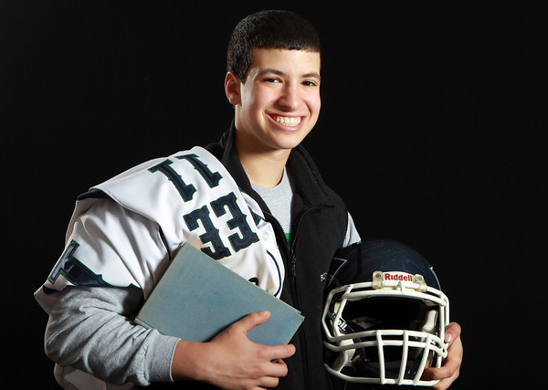 Salem News Student-Athlete Nominee Hossam Hamden, Pingree School. Hamden played football for the Highlanders for four years and baseball for three. A safety and linebacker on the turf, and a left-fielder on the diamond, Hamden has helped his teams in multiple playoff runs throughout his tenure at Pingree. David Le/Salem News