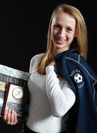 Salem News Student-Athlete Nominee Julianne DeGenova, Essex Agricultural and Technical High School. DeGenova played soccer in the fall for the North Shore Tech/Essex Aggie Bulldogs and captained the basketball team this winter. DeGenova has won numerous athletic medals and enjoys history in school. David Le/Salem News
