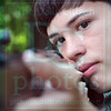 Matt Hamilton/The Daily Citizen<br /> Braxton Bates, 12, takes aim with his air rifle Wednesday at his home in Chatsworth.