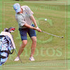 Matt Hamilton/The Daily Citizen<br /> UNC Bailey Patrick chips up onto the green at #5 Saturday.