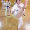 Matt Hamilton/The Daily Citizen<br /> Carla Blaney practices at the dojo Thursday.