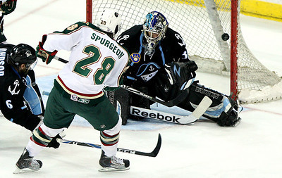 May 2, 2011; Houston, TX, USA; The Houston Aeros host the Milwaukee Admirals at Toyota Center. Mandatory Credit: Troy Taormina-US PRESSWIRE
