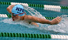 Bob Raines--Montgomery Media<br /> Max Bachman, Lansdale, swims the 12-and-under boys 50 meter butterfly.