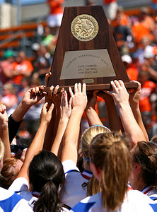 June 06, 2009 - Needville captures the Texas 3A State softball championship with a 3-1 victory over Celina.