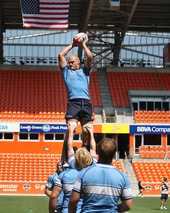 June 22, 2012; Houston, TX, USA; USA Captain's Run. Credit: Taormina Photography