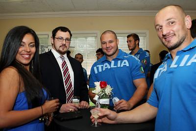 April 10, 2012; Houston, TX, USA; Viva Azzurri, Italian Consulate Reception at the Italian Cultural and Community Center. Credit: Taormina Photography