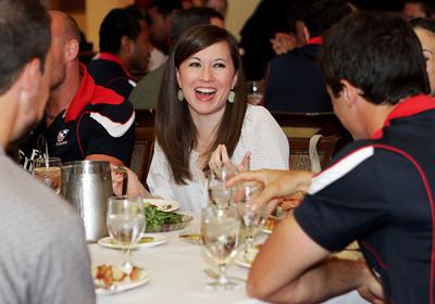 June 21, 2012; Houston, TX, USA; USA National Team dinner and Eagles pep rally. Credit: Taormina Photography