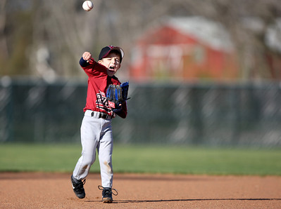 March 21, 2010 - TBall rookie Anthony Taormina practices for the upcoming season. Taormina will play for the Rattlers this season in the Rosenberg National Little League.